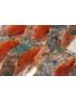 Truite de Banka gravlax - Aneth et baies roses