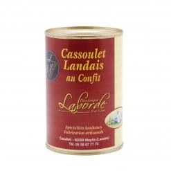 Cassoulet Landais au confit de canard