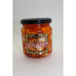 Ails à l'huile d'olive et au paprika