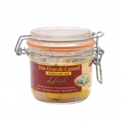 Foie gras de canard mi-cuit en bocal