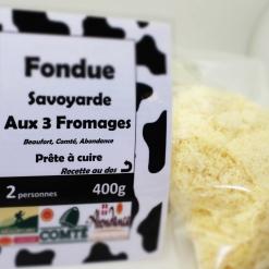 "La fondue savoyarde ""prête à cuire"""